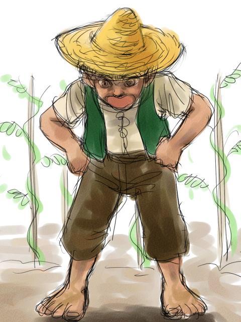 庭師のサム